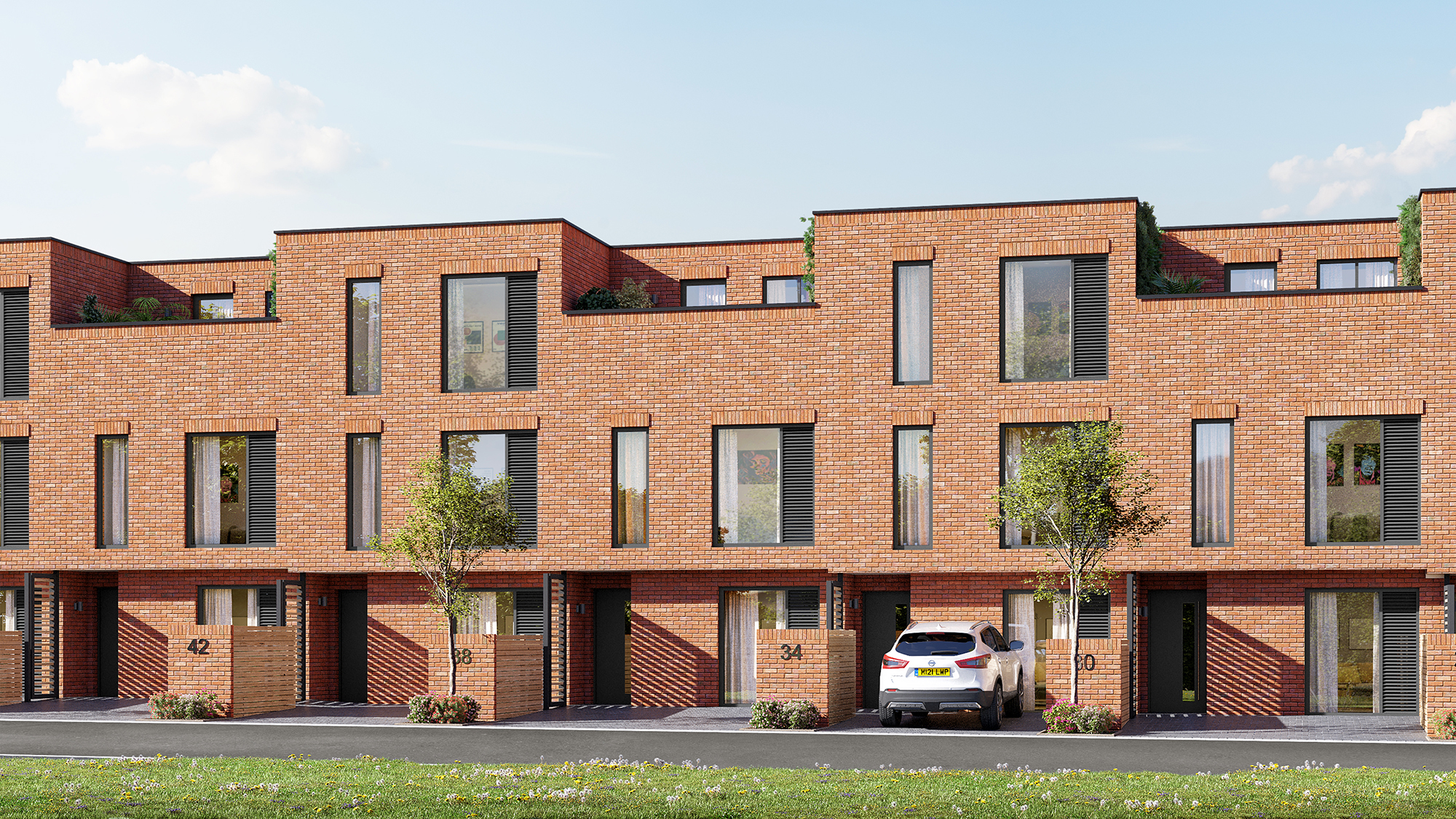 Work starts on 91 new homes in Salford